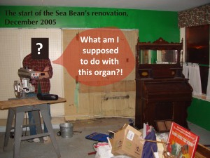 THE MYSTERIOUS CASE OF THE PUMP ORGAN…